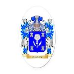 Castells Oval Car Magnet