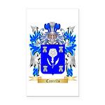 Castells Rectangle Car Magnet