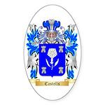 Castells Sticker (Oval)