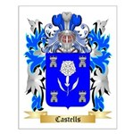 Castells Small Poster