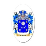 Castells 20x12 Oval Wall Decal