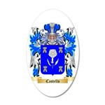 Castells 35x21 Oval Wall Decal