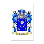 Castells 20x12 Wall Decal
