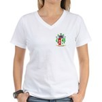 Castellotto Women's V-Neck T-Shirt