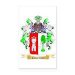Castellotto Rectangle Car Magnet