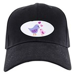 Cute mother and child birds Baseball Cap
