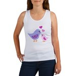 Cute mother and child birds Tank Top