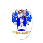 Castellon Oval Car Magnet