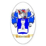 Castellon Sticker (Oval 10 pk)