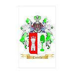 Castello Sticker (Rectangle 10 pk)