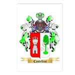 Castellini Postcards (Package of 8)