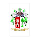 Castelli Rectangle Car Magnet