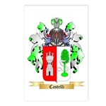 Castelli Postcards (Package of 8)