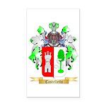 Castelletto Rectangle Car Magnet