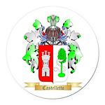 Castelletto Round Car Magnet