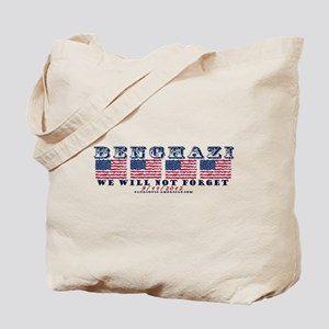 Benghazi - Never Forget (with Date) Tote Bag