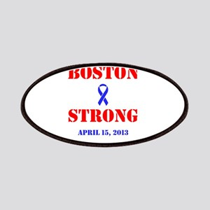 Boston Strong Red and Blue Patches