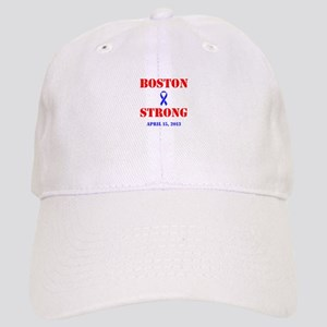 Boston Strong Red and Blue Baseball Cap