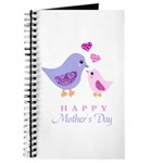 Happy Mothers day bird and chick Journal