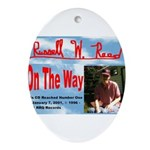 On The Way CD Ornament (Oval)