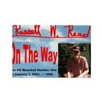 On The Way CD Rectangle Magnet