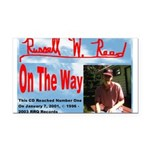 On The Way CD Rectangle Car Magnet