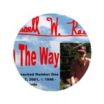 """On The Way CD 3.5"""" Button (100 pack)"""