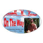 On The Way CD Sticker