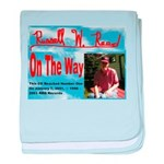 On The Way CD baby blanket