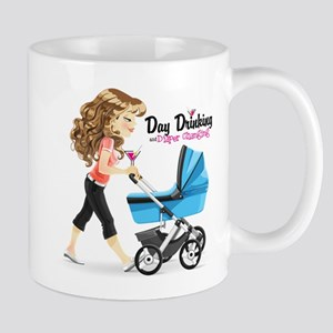 Day Drinking And Diaper Changing Mug