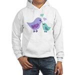 Mama bird and chick Jumper Hoody