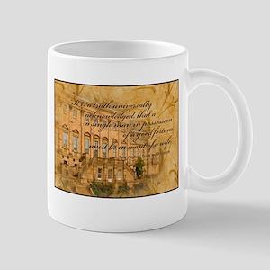 Jane Austen Fortune Mug
