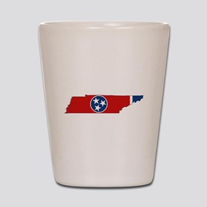 Tennessee Flag Shot Glass