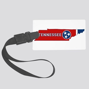 Tennessee Flag Large Luggage Tag
