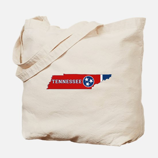 Tennessee Flag Tote Bag
