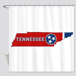 Tennessee Flag Shower Curtain