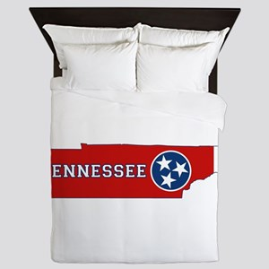 Tennessee Flag Queen Duvet