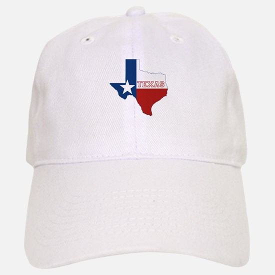 Texas Flag Baseball Baseball Cap