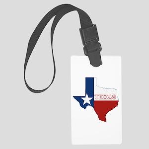 Texas Flag Large Luggage Tag