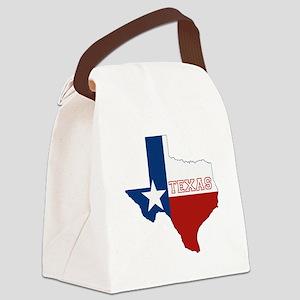 Texas Flag Canvas Lunch Bag