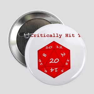 "I'd Critically Hit That - Red 2.25"" Button"