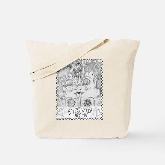 EyesWideOpen Tote Bag