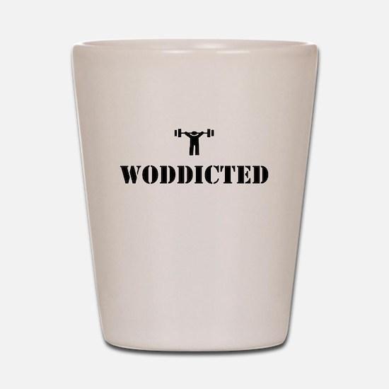 WODDICTED Shot Glass