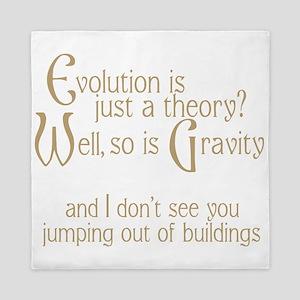 Evolutionary Theory Queen Duvet