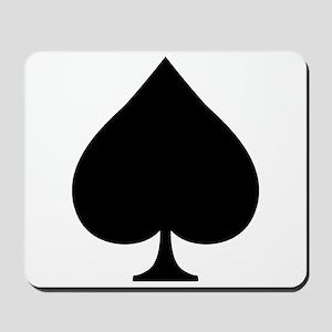 Spade Mousepad