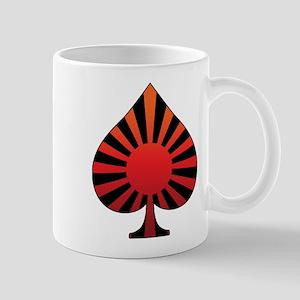Spade sun rising Mug