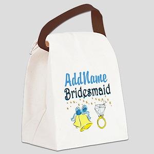 BRIDESMAID Canvas Lunch Bag