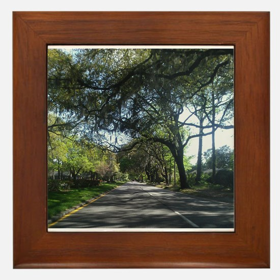 Savannah Georgia Framed Tile