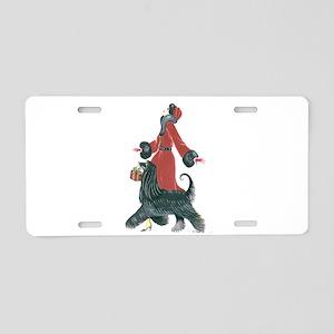 Ruby Aluminum License Plate