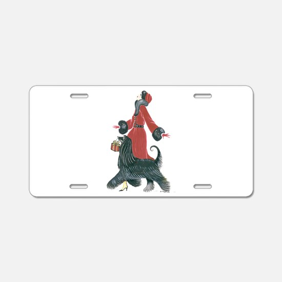 Ruby.png Aluminum License Plate